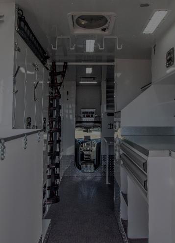 custom truck interior