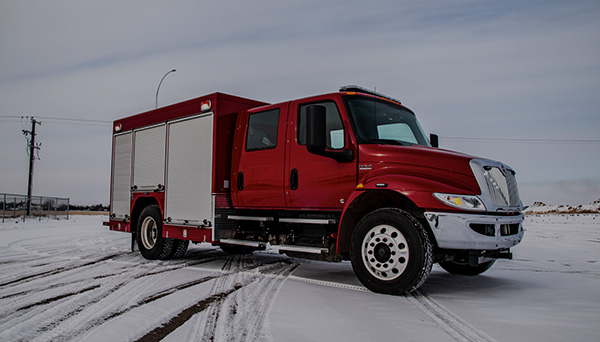 custom emergency response truck
